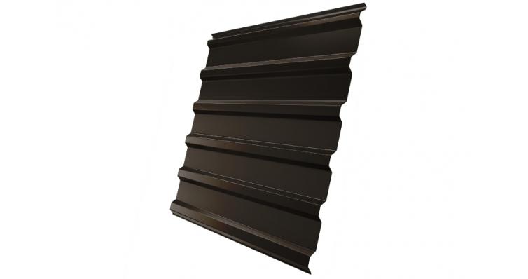Профнастил С20R 0,45 PE RR 32 темно-коричневый