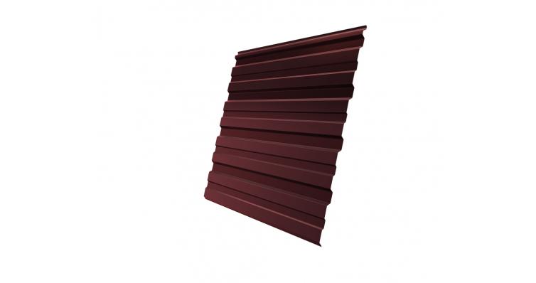 Профнастил С10R 0,5 Satin RAL 3009 оксидно-красный