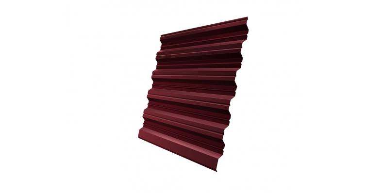 Профнастил HC35R Grand Line 0,5 Quarzit RAL 3005 красное вино