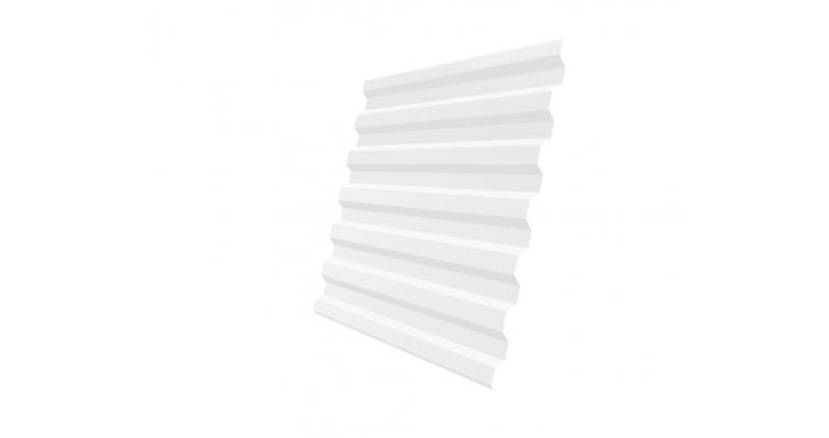 Профнастил С21R 0,7 PE RAL 9003 сигнальный белый