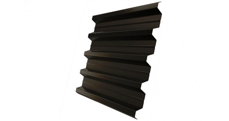 Профнастил H60R 0,5 Satin RR 32 темно-коричневый