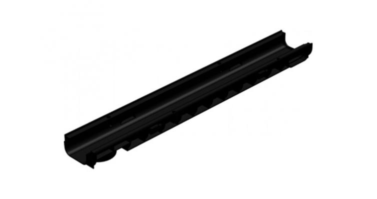 Лоток водоотводный Gidrolica StandartЛВ-10.14,5.13,5 пластик. С250