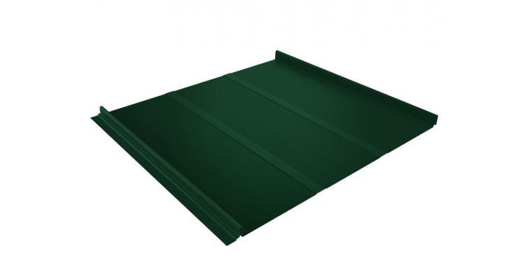 Кликфальц Профи 0,45 PE с пленкой на замках RAL 6005 зеленый мох