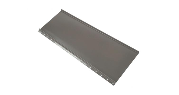 Кликфальц mini Grand Line 0,5 Satin с пленкой на замках RAL 7004 сигнальный серый