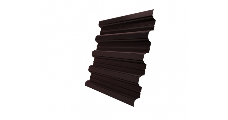 Профнастил Н75R 0,7 plus PE RAL 8017 шоколад