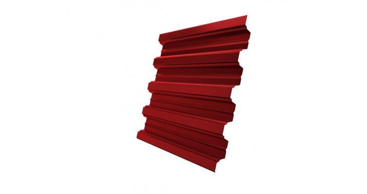 Профнастил Н75R 0,7 PE RAL 3003 рубиново-красный