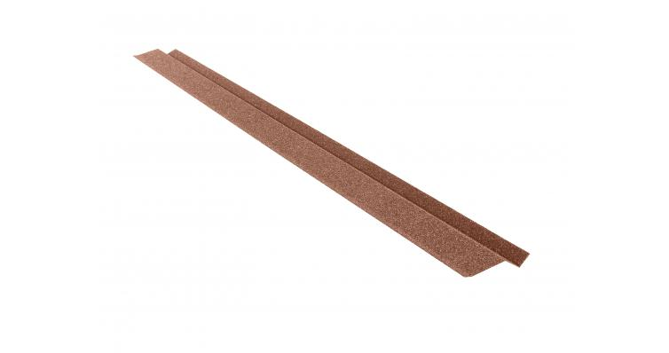 Планка карнизная малая КЧ Grand Line шоколад