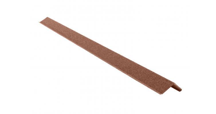Планка фронтонная КЧ Grand Line шоколад