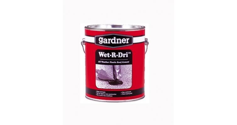 Битумная мастика Gardner Wet-R-Dri Roof Cement 3,4 л