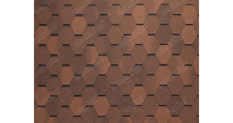 Тегола Нордик коричневый с отливом