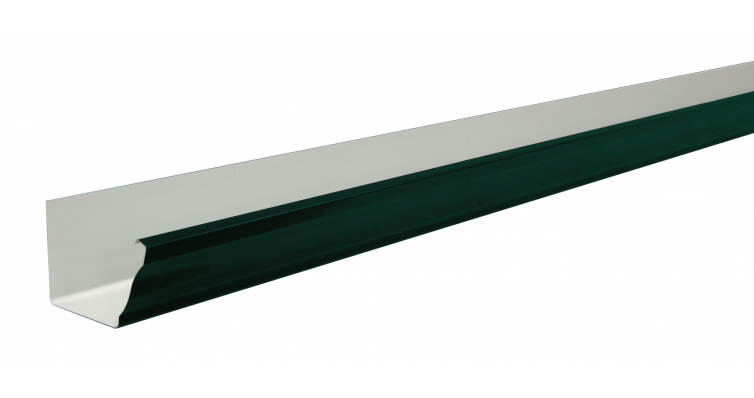 Желоб прямоугольный Vortex 127мм 3м RAL 6005