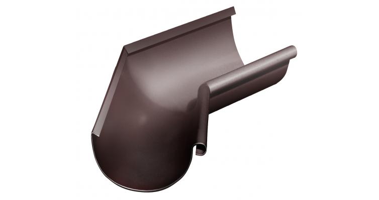 Угол желоба внутренний 135 гр 150 мм RAL 8017 шоколад