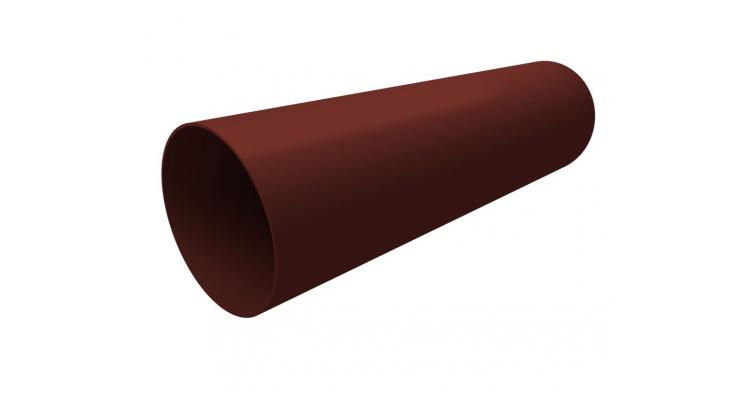 Труба ПВХ Grand Line 3м шоколадная (RAL 8017)