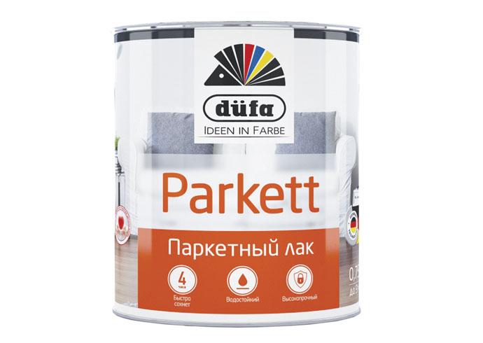 Dufa Retail Лак PARKETT паркетный глянцевый   750мл