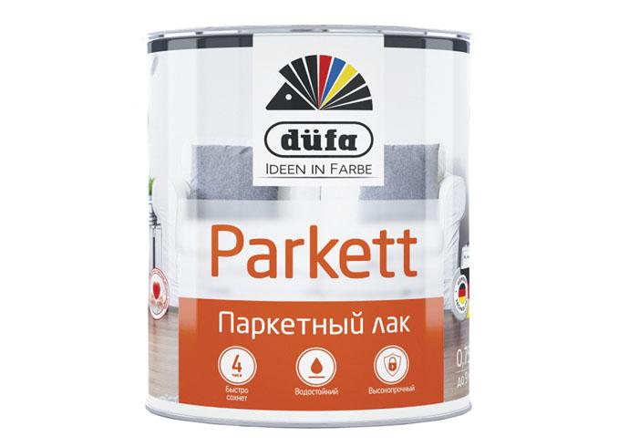 Dufa Retail Лак PARKETT паркетный матовый  2,5л