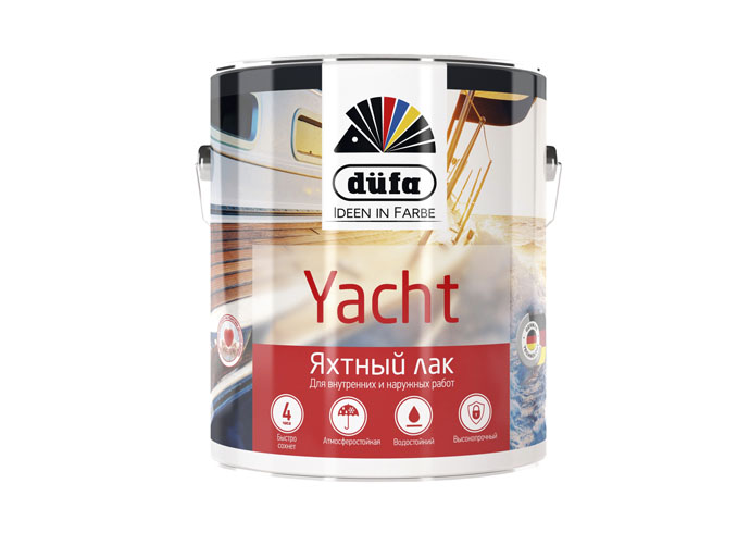 Dufa Retail Лак YACHT яхтный матовый   750мл