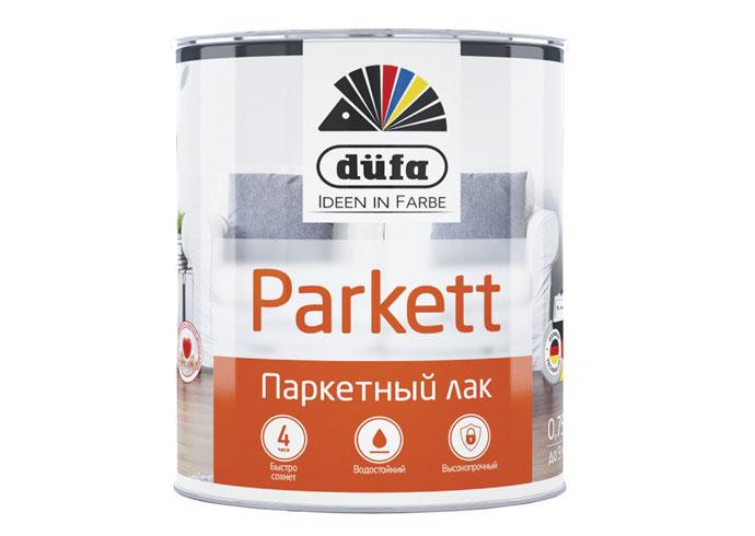 Dufa Retail Лак PARKETT паркетный полуматовый   750мл