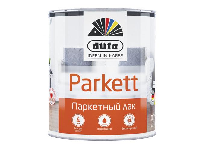 Dufa Retail Лак PARKETT паркетный полуматовый  2,5л