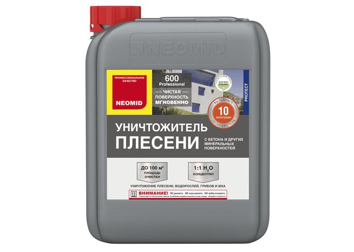 Neomid Средство для удаления плесени Neomid 600 концентрат 5 кг