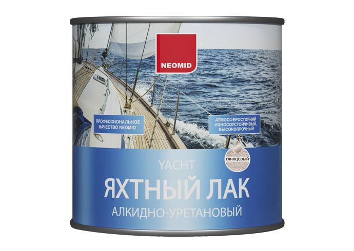 Neomid Лак яхтный алкидно-уретановый глянц. 2,5 л