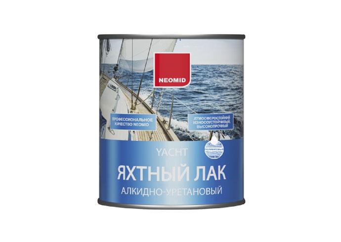 Neomid Лак яхтный алкидно-уретановый п/ матовый 0,75 л