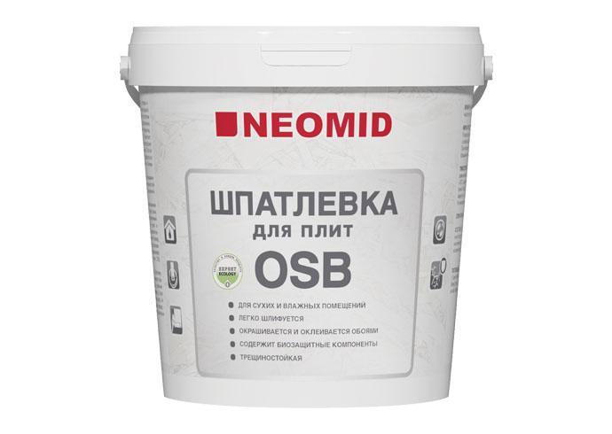 Neomid Шпатлевка для плит OSB 1,3кг