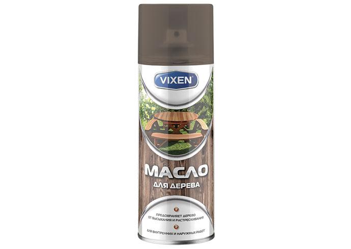 VIXEN Масло для дерева, бесцветный, аэрозоль 12х520 мл.
