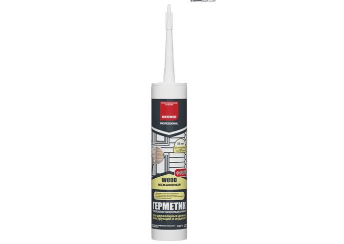 Neomid Герметик строительный Neomid Professional Plus, белый,  картридж 310 мл