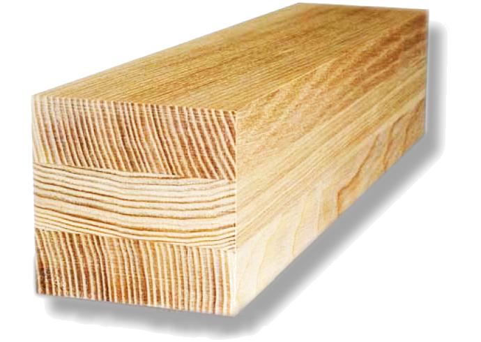 Брус клееный сорт АВ 160x160x6000