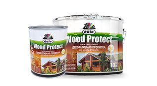 Декоративные пропитки Wood Protect