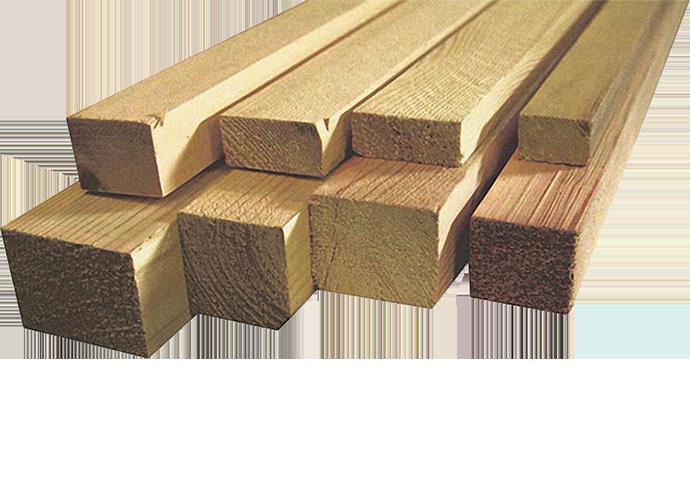 Деревянный брусок, рейка