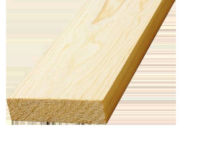 Доска обрезная 50x200x6000