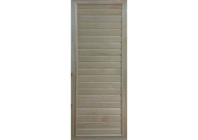 Дверь для бани с коробкой осина (глухая)