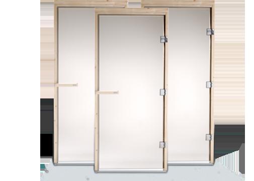 Дверь для сауны (стеклянная) 70x190