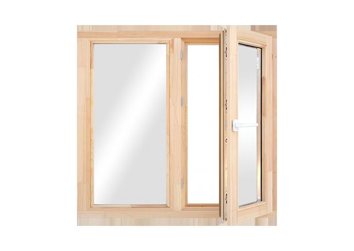 Двухстворчатые окна 10x10
