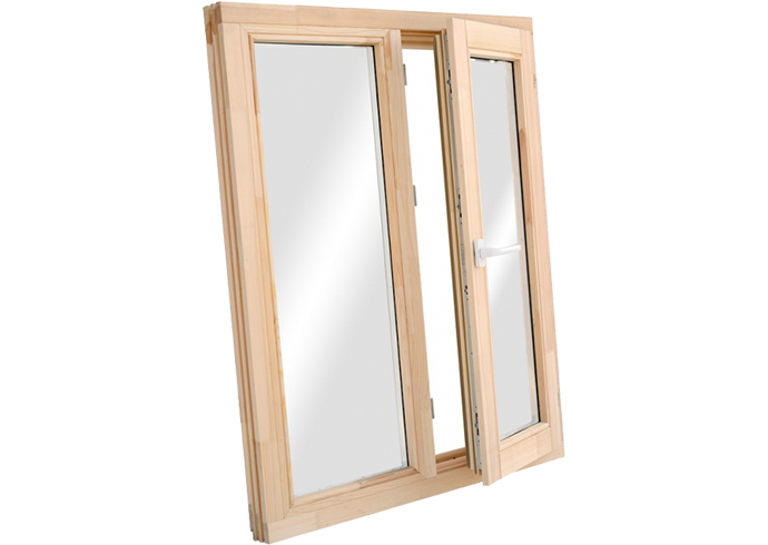 Двухстворчатые окна 6x12