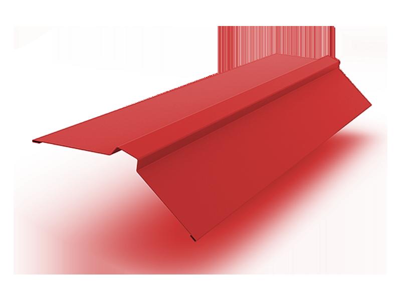 Конек прямоугольный полиэстер ширина полки 150 мм красный