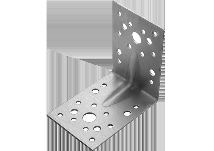 Крепежный уголок усиленный 130x130x100