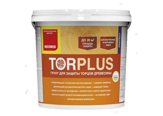 Cостав для защиты торцов древесины NEOMID TOR PLUS 2.5 кг