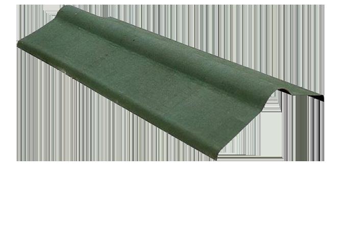 Коньковый элемент Ондулин зеленый
