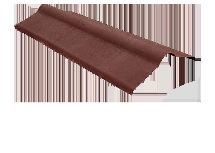 Коньковый элемент Ондулин коричневый