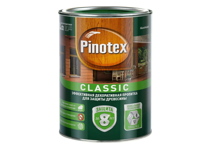 Пропитка PINOTEX Classic калужница 1л
