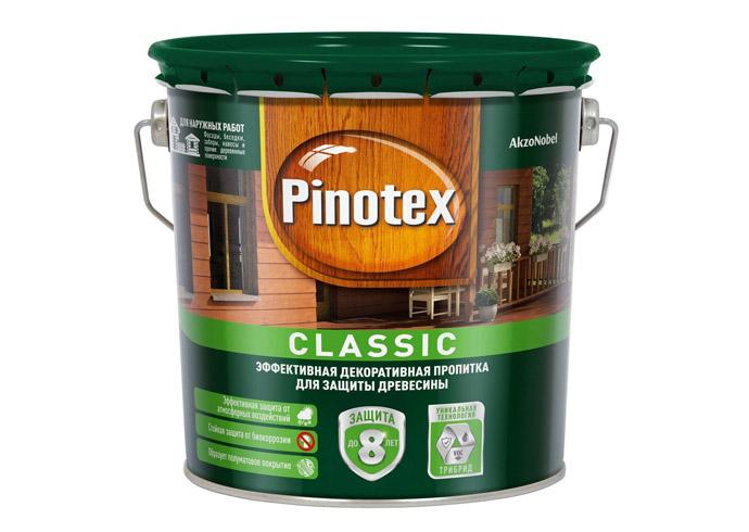 Пропитка PINOTEX Classic калужница 2.7л