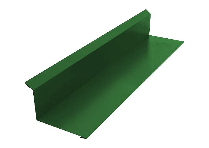 Пристенный профиль полиэстер 100x150 зеленый