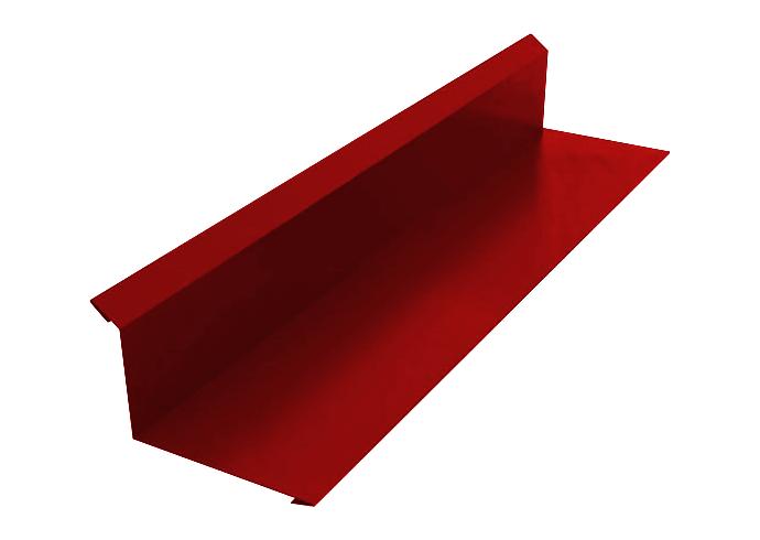 Пристенный профиль полиэстер 100x150 красный