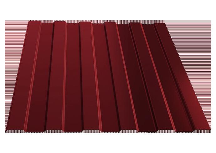 Профлист C8 1200x0.45 полиэстер красный