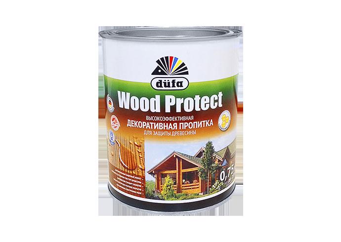 Пропитка düfa Wood Protect для защиты древесины с воском (тик)