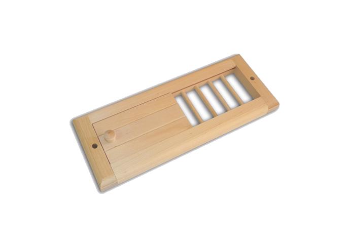 Решетка вентиляционная (липа)