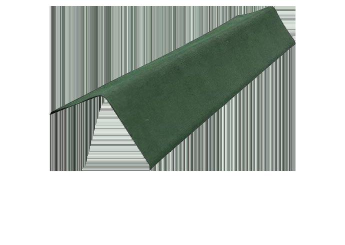 Щипцовый профиль Ондулин Черепица зеленый