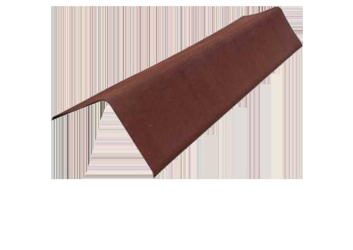 Щипцовый профиль Ондулин Черепица коричневый
